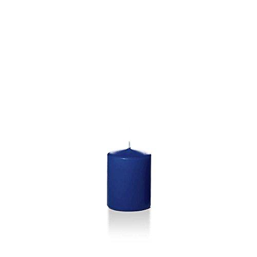 pillar candles blue - 8