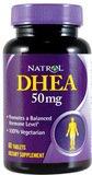 Natrol - Dhea, 50 mg, 60 comprimés