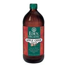 Eden Foods Organic Apple Cider Vinegar, 32 Ounce -- 12 per case. (Aged Cider)