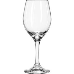 Libbey Glassware 3057 Perception Wine Glass, 11 oz. (Pack of 24)
