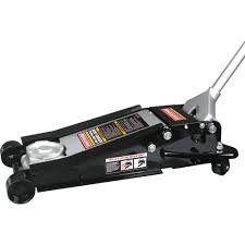 Craftsman 4 Ton Low Profile/high Lift Service Jack. It Features a Heavy-duty Chassis That Adds Strength and Durability, Capable of Lifting Vehicles From 4 to 20 Inches High. Includes Jack, Handle and Manual. Overload Valve System by Craftsman