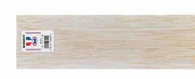 Balsa Wood Sheet 36''-1/8''X4'' 15 per pack by Notions - In Network