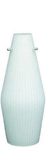 (Prima Lighting 763-L0-V736-W-SV-SC Locus Series LED Pendant with Opal Matte Glass Shade)