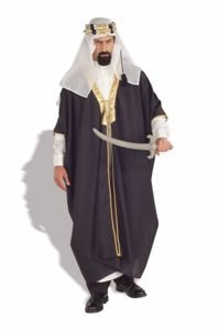 Forum Novelties Men's Arab Sheik Costume, Multi, Standard - The Sheik Costume
