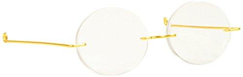Darice Acrylic Oval Lense Doll Glasses, (Oval Glass Doll)