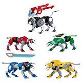 Voltron Legendary Defender Set of 5 Combining Lions Action Figures - Forms 8
