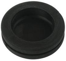 Grommet, Blank Diaphragm, Closed / Holeplug, Vinyl, 20.6 mm, 1.5 mm