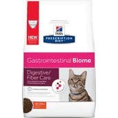 HILL'S PRESCRIPTION DIET Gastrointestinal Biome Digestive/Fiber Care with Chicken Dry Cat Food 8.5, lb Bag by HILL'S PRESCRIPTION DIET