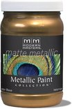 Mm238-06 6oz Blackened Bronze Matte Metallic Paint Collection