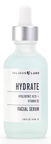 (Valjean Labs Facial Serum, Hydrate, Hyaluronic Acid + Vitamin B5)