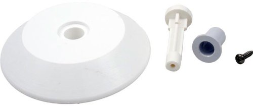 Zodiac R0379000 White Gunite Nose Wheel Replacement Kit for Zodiac Jandy Automatic Pool Cleaner