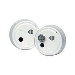 Gentex 8100Y Smoke Alarm, 120V AC Photoelectric w/ Solid State Sounder, Non-Latching Circuit