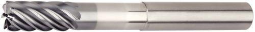 WIDIA Hanita 7VNX19007EV VariMill III ER 7VNX HP Finishing End Mill RH Cut 0.75 Cutting Diameter Carbide 7-Flute 0.12 Rad 0.75 Cutting Diameter WIDIA Products Group 5971444 Safe-Lock AlTiN 0.12 Rad