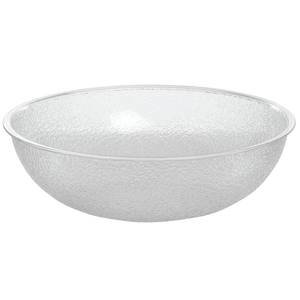 "Cambro PSB12-176 12"" Round Pebbled Bowl"