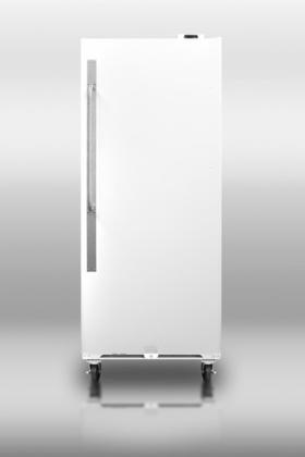 Summit SCUF20 Upright Freezer, White