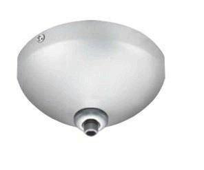 Jesco Lighting QAC-1C Accessory - Ceiling Monopoint Quick Adapt Canopy, Chrome Finish from Jesco Lighting Group