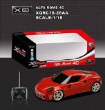 1/18 Scale Alfa Romeo 4C Radio Remote Control Model Car RC RTR