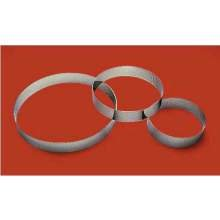 World Cuisine Paderno Entremets Pastry Ring, 8 5/8 inch Diameter - 2 per case
