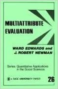 Multiattribute Evaluation (Quantitative Applications in the Social Sciences) by Ward Edwards (1982-10-01)
