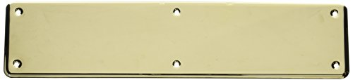 Baldwin Hardware 2110.003 ColdForged Push Plate Indoor - Baldwin Brass Plate Pull