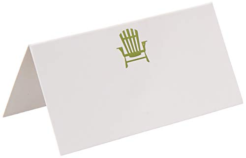 (Abbott Collection 1227-Fold/Chair Folded Placecards w/ Chair)