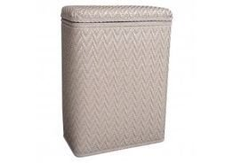 Elegante Collection Decorator Color Wicker Hamper 423MO