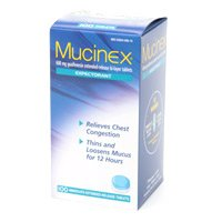 Mucinex 500 Tablets Immediate Extended Release Tablets (600mg) by Mucinex