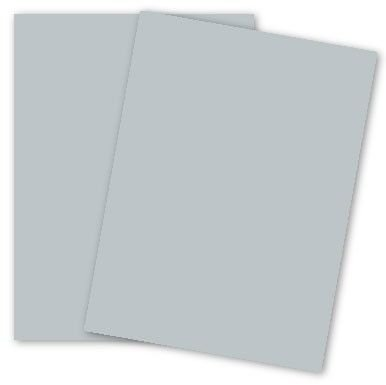 Earthchoice Gray 8-1/2-x-14 Lightweight Multi-use Paper 500-pk - 089 GSM (24/60lb Text) PaperPapers LEGAL size Econo Everyday Paper - Professionals, Designers, Crafters and DIY Projects by Paper Papers