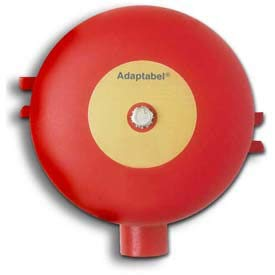 - Edwards Signaling, 439DEX-6AW, Adaptabel DC Vibrating Fire Alarm Bell, Explosion Proof 6