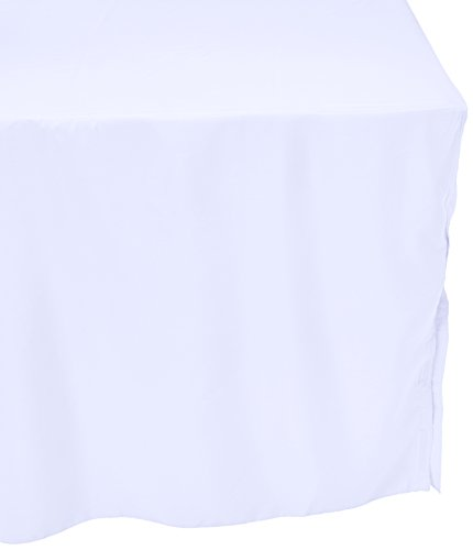 72 Hemmed Polyester Tablecloth - 5