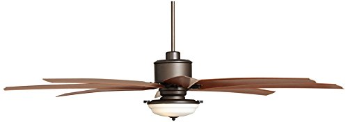 72 Quot Predator Frost Light English Bronze Outdoor Ceiling Fan 72 Inch Ceiling Fans