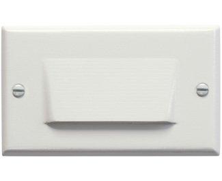 Kichler 12602WH Shielded Landscape Step, 1 Light LED, White