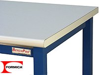 72in Workbench (Kennedy Workbench With LisStat ESD Anit Static Laminate Top, 6,600 lbs Capacity, 30
