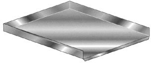 3048 Economy Work Table - Aero Economy Drainboard 30