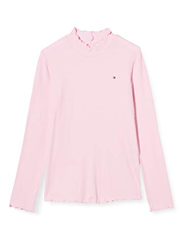 Tommy Hilfiger meisjes hemd Babylock Rib Knit L/s