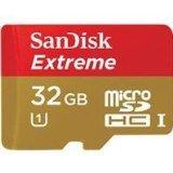 Sandisk 32GB Extreme MicroSDHC UHS-I Card (SDSDQXL-032G-A46A)