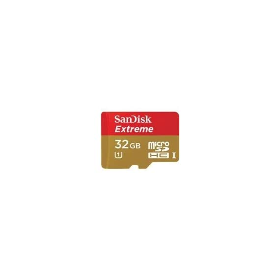 Sandisk 32GB Extreme MicroSDHC UHS-I Card (SDSDQXL-032G-A46A) 1 Ultra High Speed (uhs-1) Designates A Performance Option Designed To Support Real Time Video Recording In Uhs-i Enabled Host Devices Ideal For Tablets, Smartphones & Cameras Waterproof, X-ray Proof, Temperature Proof & Shock Proof With Limitations