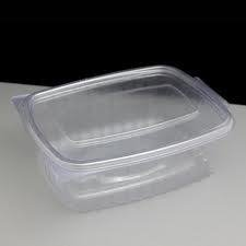 Deli Supplies 240 x 1000cc Caterbox Clear Hinged Container Salads Pasta Salad Seafood Salad Box delisupplies