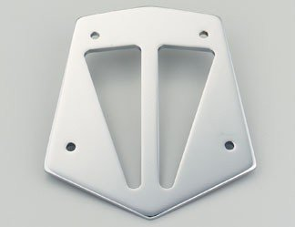 (Honda 08F75-MCH-100D Tall Sport-Custom Chrome Backrest Trim)