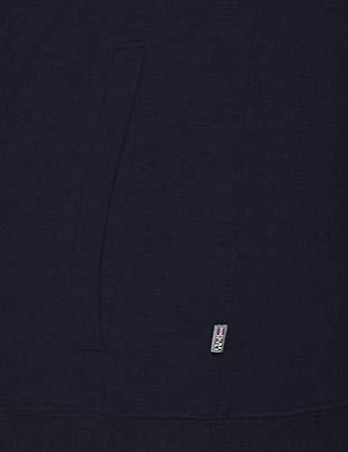 blu Full blu da 176 Berthow Marine Logo Felpa Napapijri uomo xZ60q