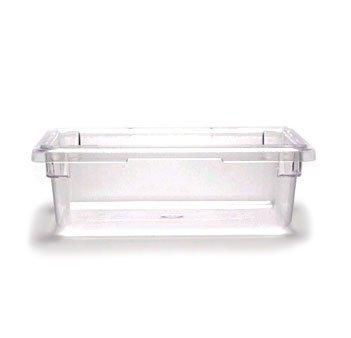 Cambro Camwear 12186CW135 Food Box, 12 by 18 by 6-Inch, Clear