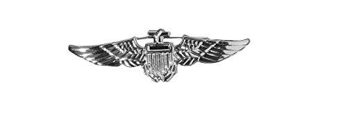 Aviator Badge - Silver Accessory]()