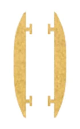 Bjc iris - Embellecedor exterior serie iris oro mate: Amazon.es: Bricolaje y herramientas