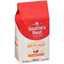 Seattles Best Ground Coffee Bundle - Very Vanilla 12oz and Toasted Hazelnut 12oz