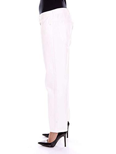 Aalto Pantalón Algodon Mujer A1de4white Blanco 4qrUPSawA4