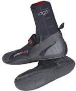 Hyperflex Wetsuits Men's 3mm Amp Round Toe Boot, Black, 11 - Surfing, Windsurfing & Wakeboarding