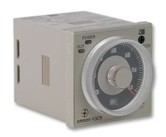 OMRON INDUSTRIAL AUTOMATION H3CR-A 24-48VAC/12-48VDC Analogue Timer, Multifunction, H3CR-A Series, On-Delay, 14 Ranges, 0.05 s, 300 h