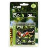 TDK 4X DVD-RW 8CM 1.4 GB DVD-RW 3 Pack in Jewel Case 1.4 Gb Dvd Media