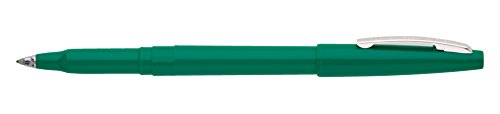 (Pentel R100D Rolling Writer Stick Roller Ball Pen, .8mm, Green Barrel/Ink (Pack of 12))