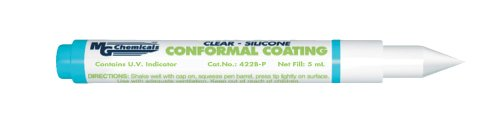 MG Chemicals Silicone Conformal Coating, 5 ml Clear Overcoat Pen